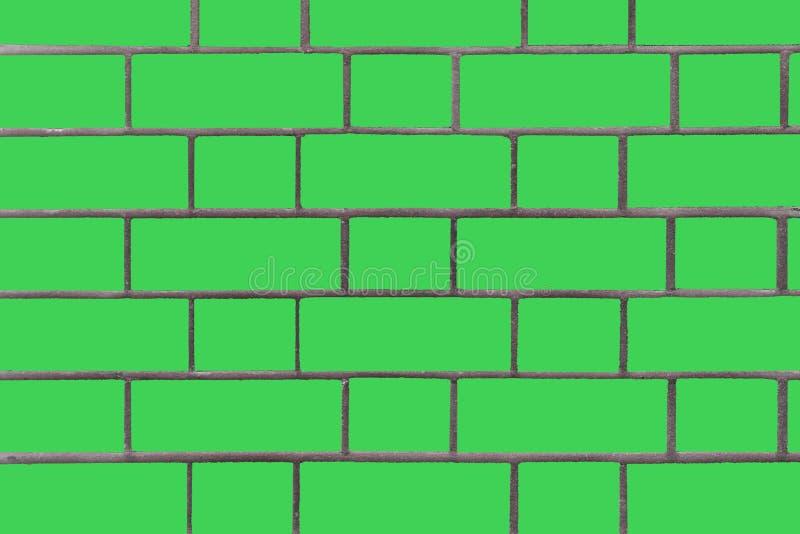 Mur de briques vert Dessins de vecteur Fond d'image d'un mur de briques photographie stock libre de droits
