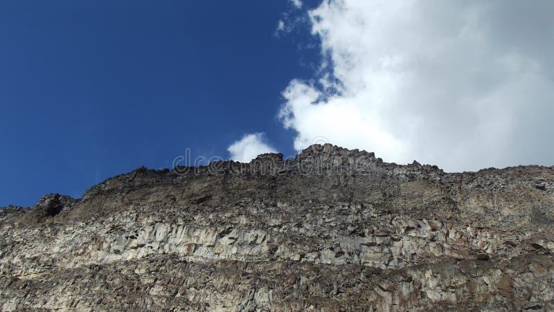 Mur de canyon au-dessus de la rivière Snake image libre de droits