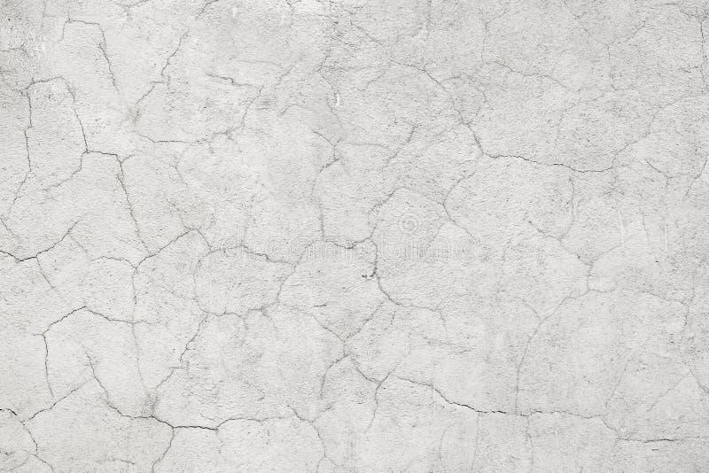 Mur de ciment avec des fissures photographie stock libre de droits