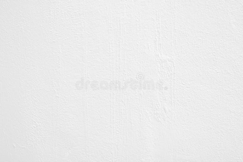 Mur de ciment blanc texturisé et fond photographie stock
