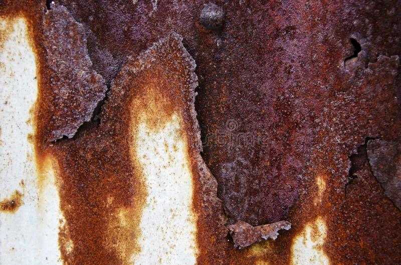 Mur de dommages en métal photo libre de droits