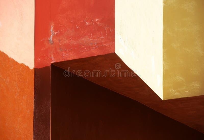 Mur de façade photo stock