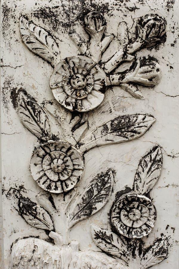 Mur de fleur images libres de droits