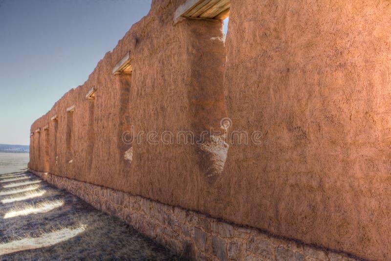 Mur de fort photographie stock libre de droits
