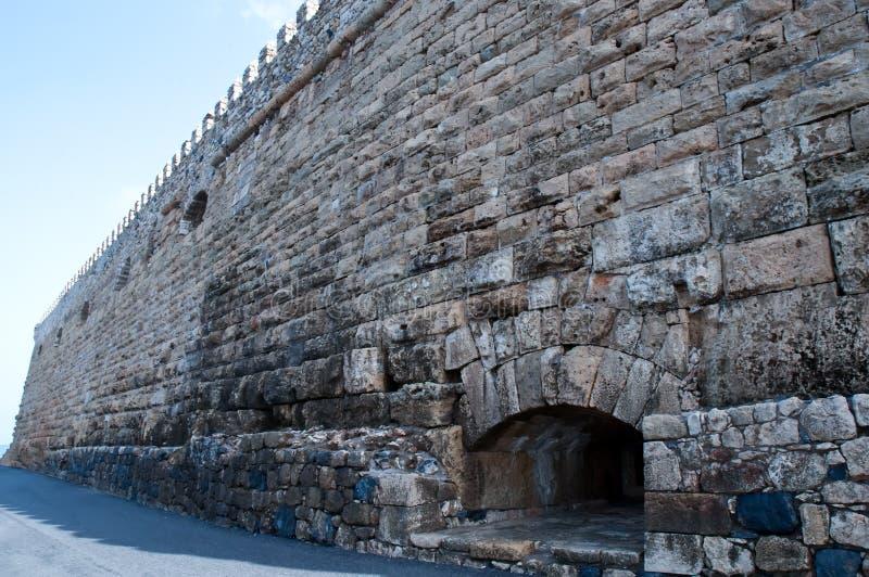 Mur de forteresse. photos stock