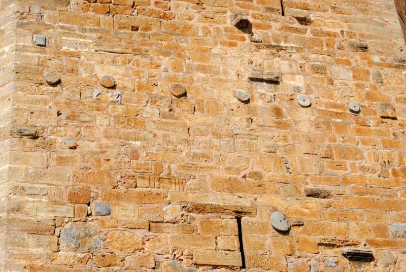 Mur de forteresse images libres de droits