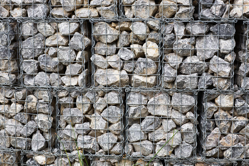 mur de gabion image stock image du panier photographie. Black Bedroom Furniture Sets. Home Design Ideas