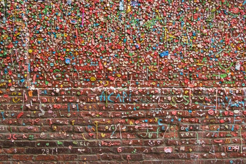 Mur 04 de gomme images libres de droits