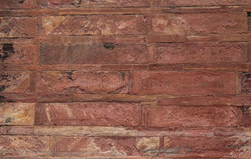 Mur de grès de fort antique photos stock