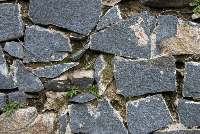 Mur de granit photographie stock