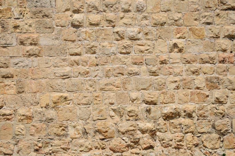 Mur de Jérusalem. image libre de droits