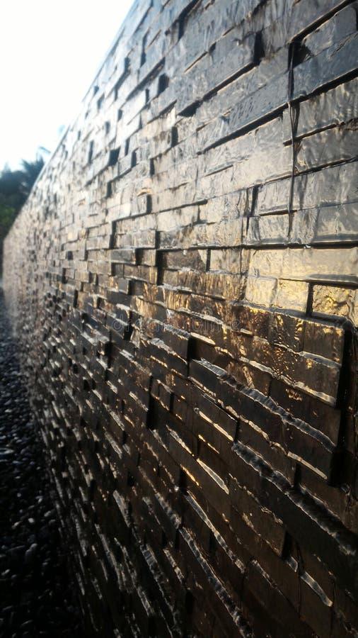 Mur de l'eau image stock