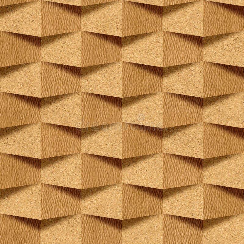 Mur de la brique, texture décorative de papier peint en bois photos libres de droits