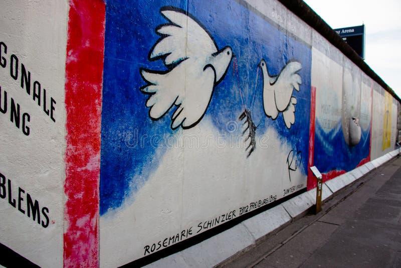 Mur de la RDA photo stock