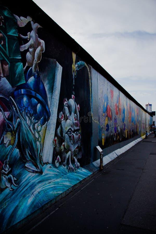 Mur de la RDA photographie stock libre de droits