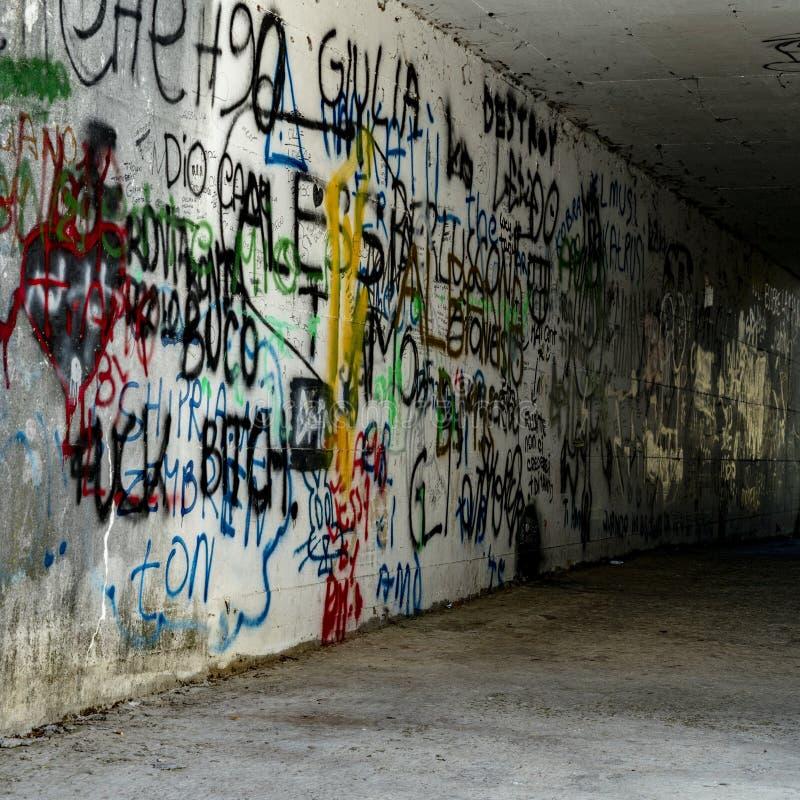 Mur de la rue art photos stock