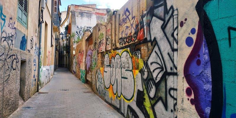 Mur de la rue art photographie stock