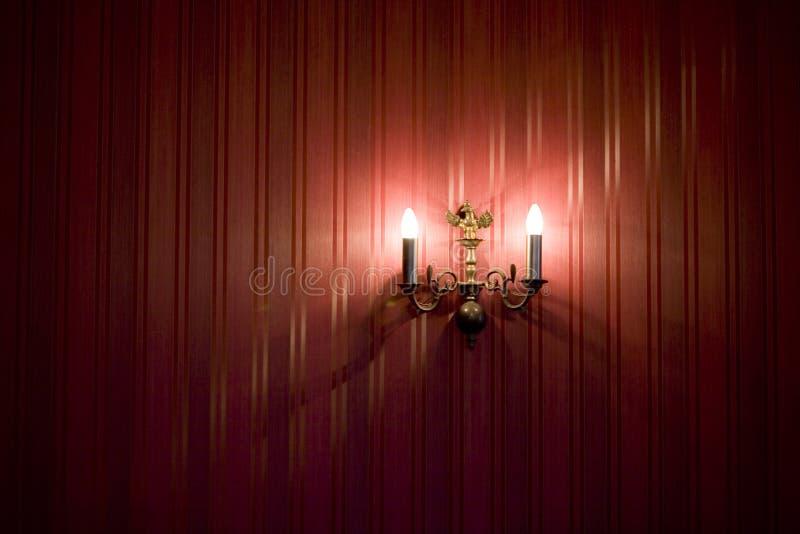 mur de lampes images stock