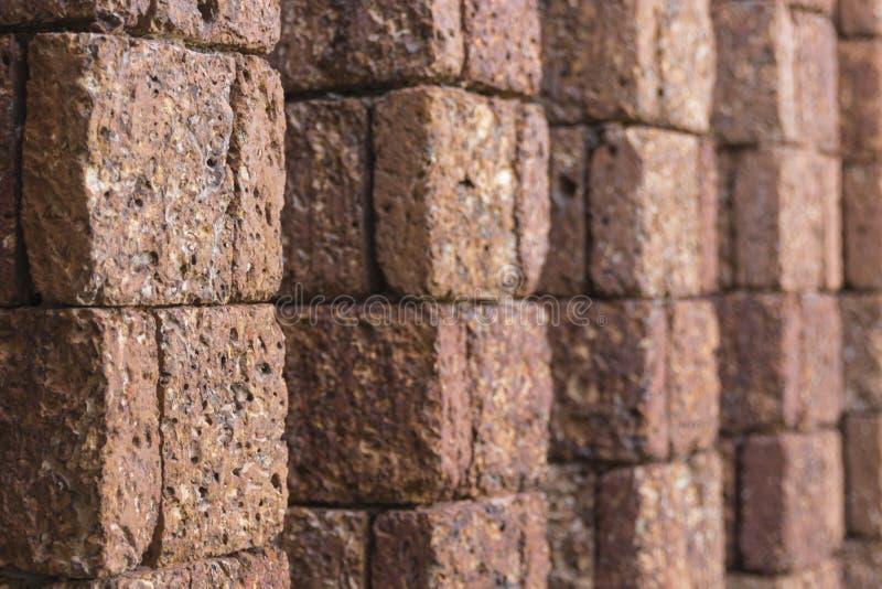 Mur de latérite photographie stock