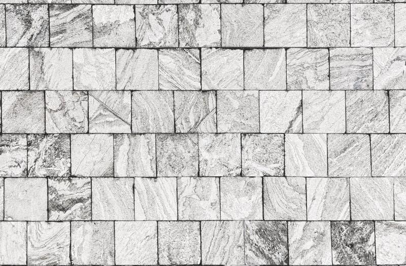 Mur de marbre blanc de roche, architecture extérieure moderne de conception photographie stock libre de droits