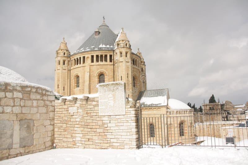 mur de minaret externe de Jérusalem de ville vieux photographie stock libre de droits