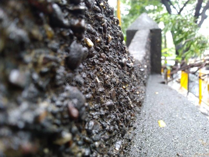 Mur de pluie image libre de droits