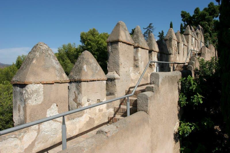 Download Mur de tours photo stock. Image du antique, château, tour - 8654106