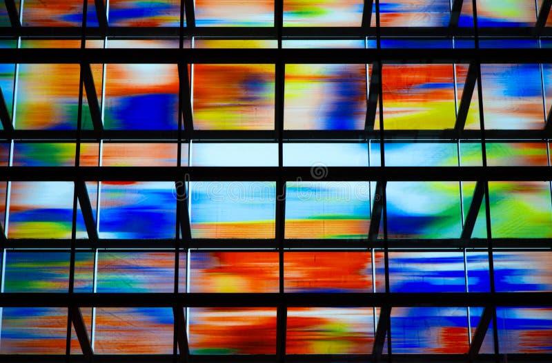 Mur de verre photo stock