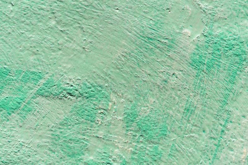 Mur de vert de cru de fond Texture de vieille peinture photographie stock libre de droits