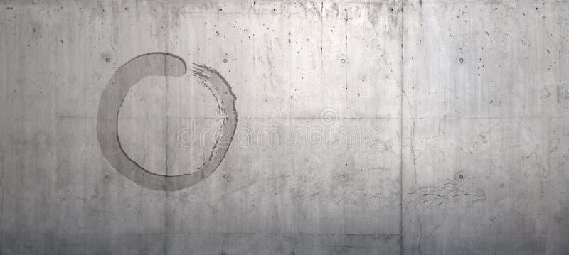 Mur de zen illustration de vecteur