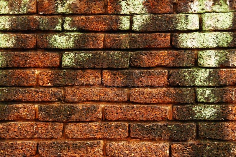 Mur des briques rouges image stock