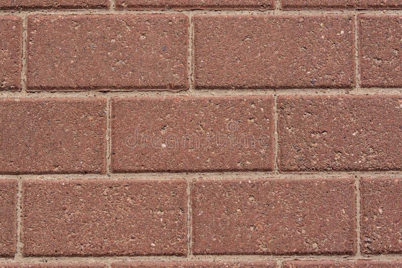 Mur des briques rouges de granit image stock