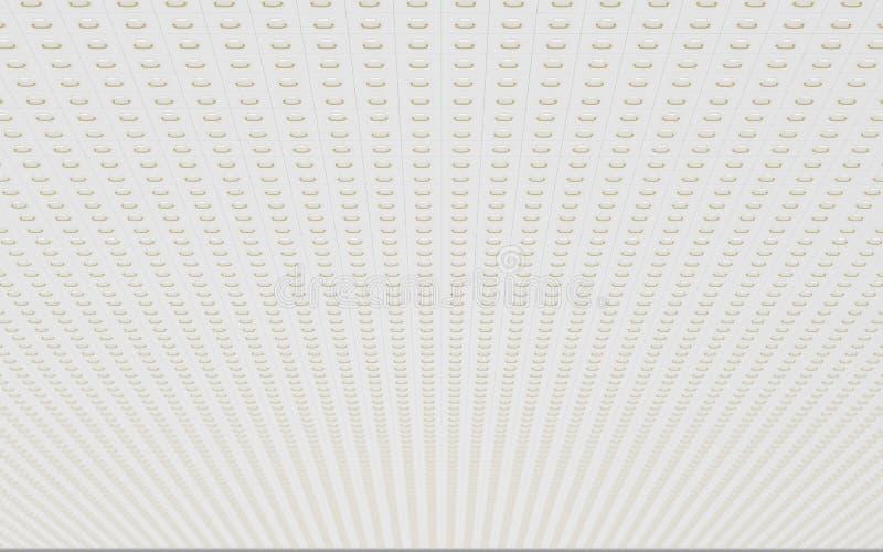 Mur des meubles d'archivage illustration de vecteur