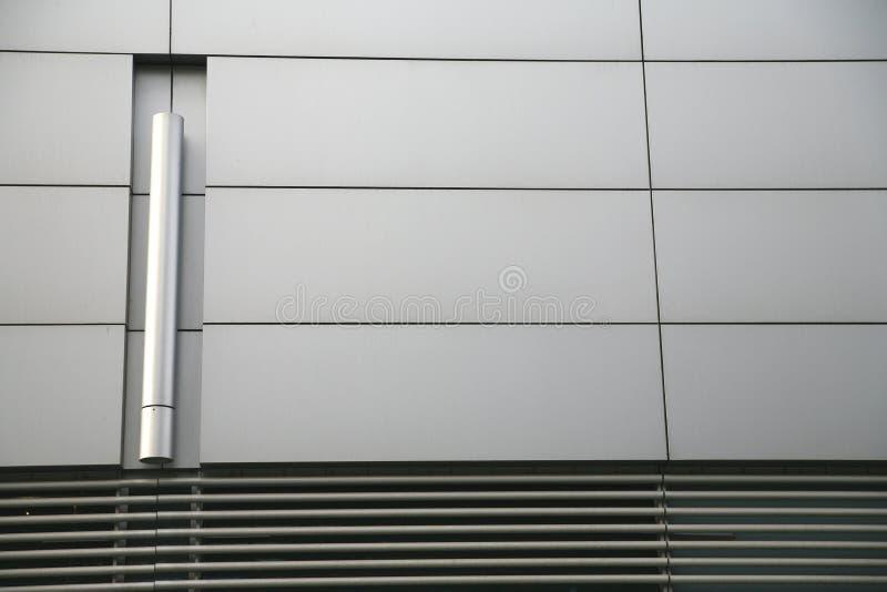 Mur en acier photographie stock