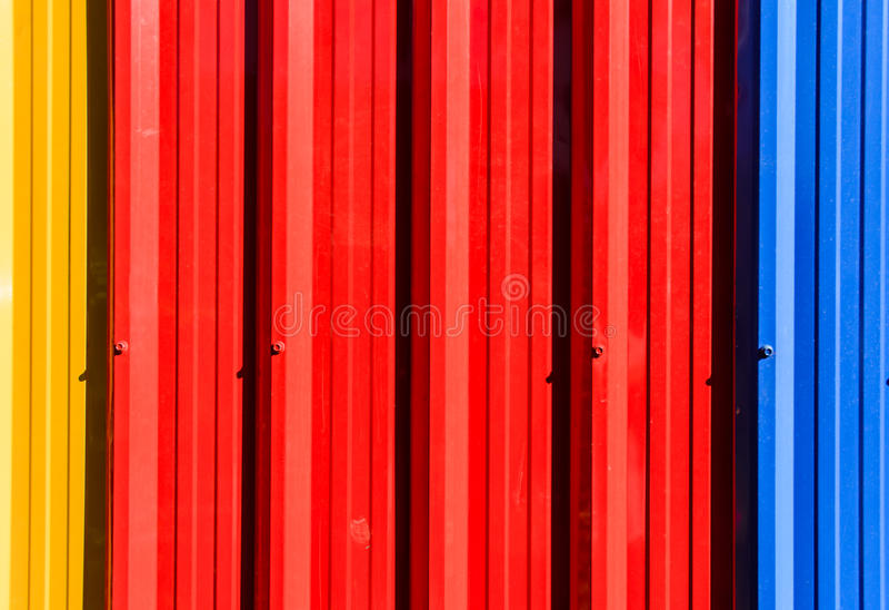 Mur en acier galvanisé image libre de droits