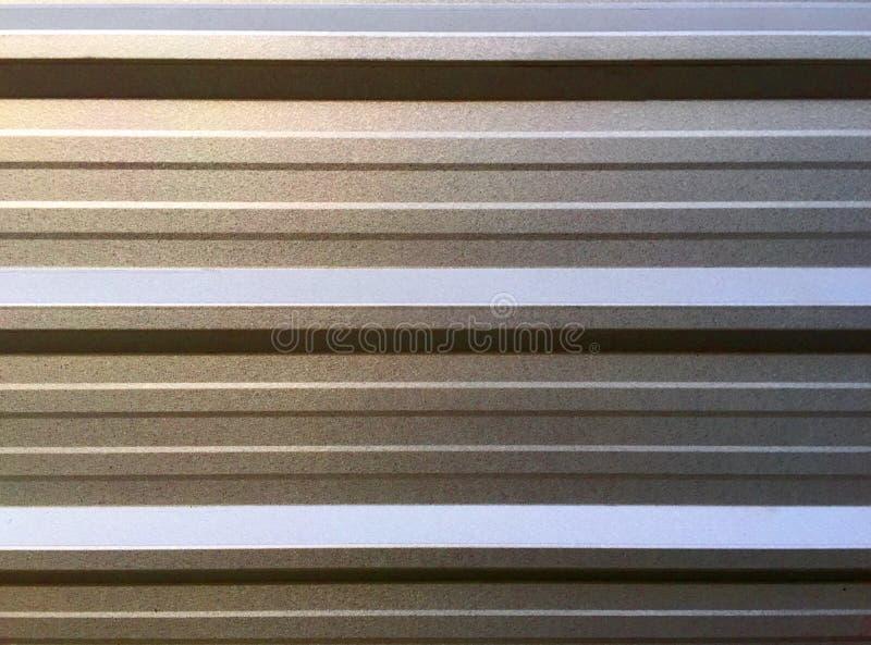 Mur en aluminium expulsé photos stock