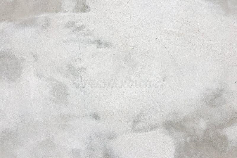Mur en béton avec le fond blanchi de texture de couche images stock