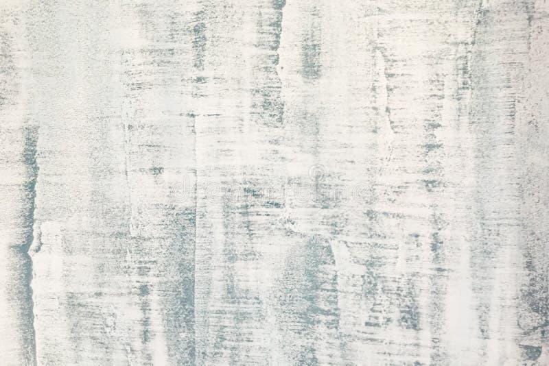 Mur en béton avec le fond blanchi de texture de couche image libre de droits