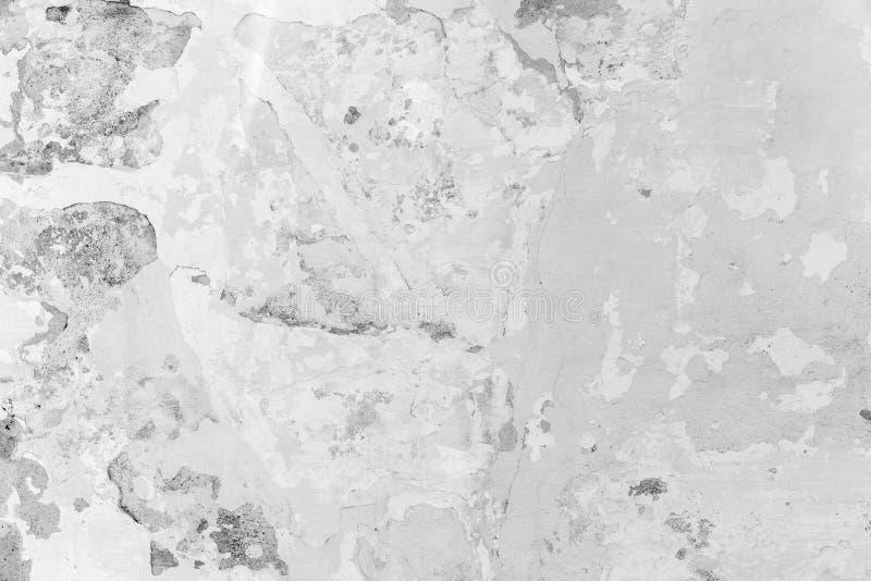 Mur En Bton Blanc Avec Le Stuc Et La Peinture Photo Stock  Image