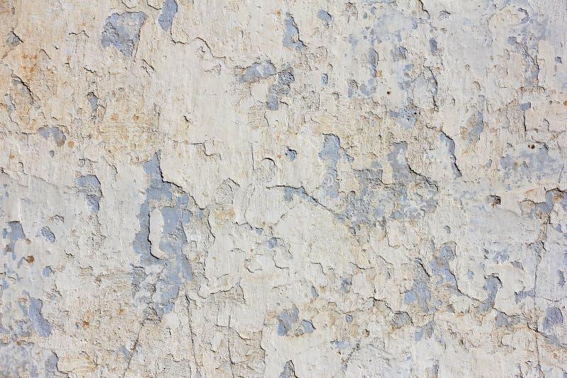 Mur en béton bleu beige, texture images libres de droits