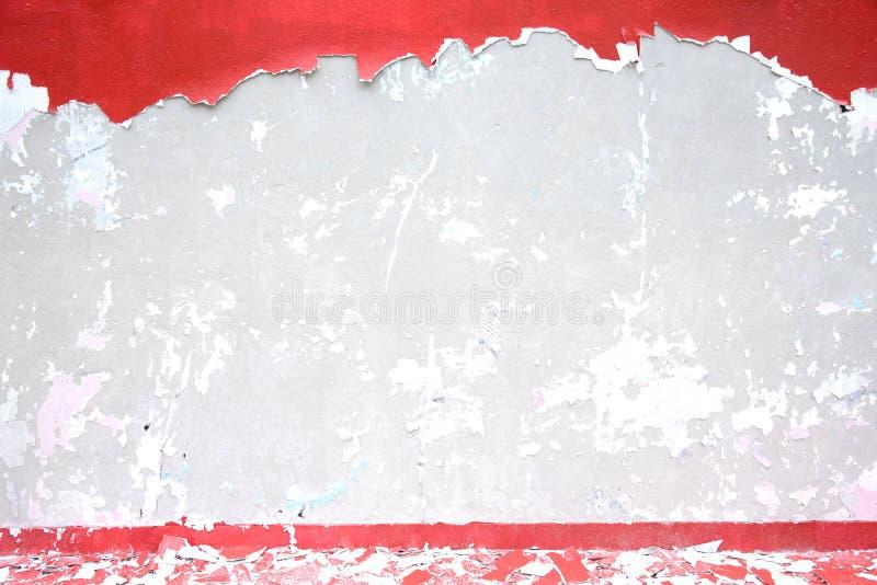Mur en béton criqué images libres de droits