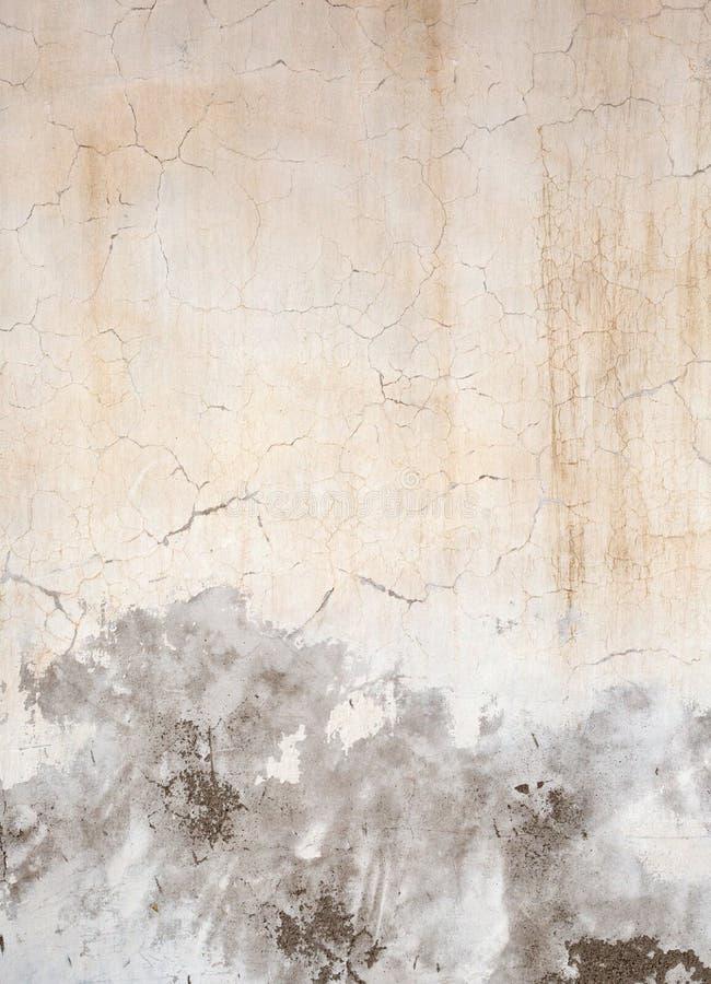 Mur en béton criqué grunge images libres de droits