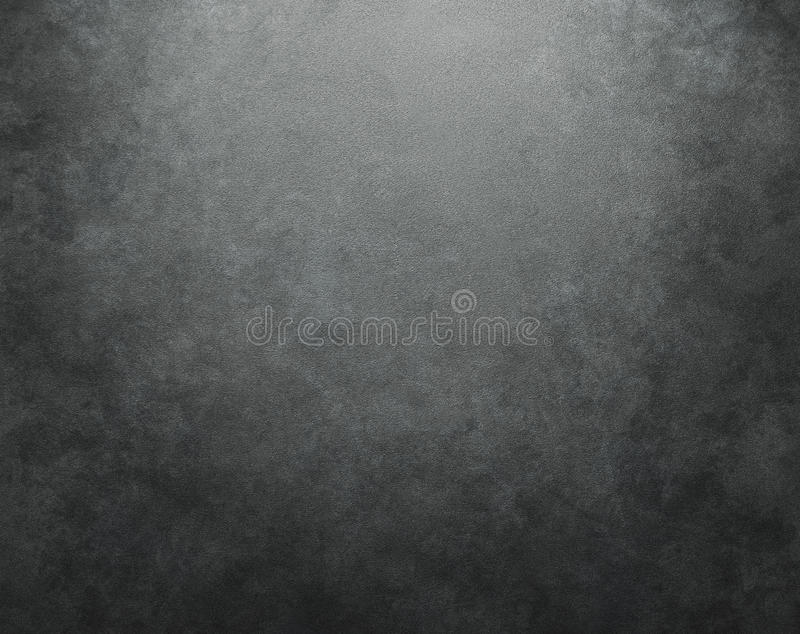 Mur en béton foncé illustration stock