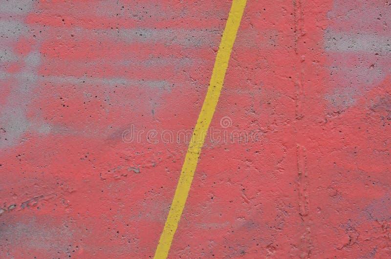Mur en béton rose photo libre de droits