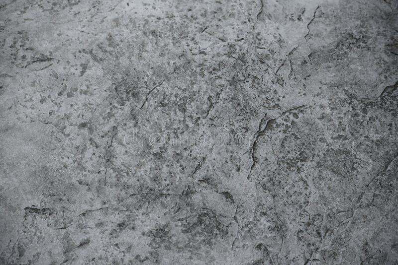 Mur en b?ton grunge de ciment avec le fond de texture de fente photos libres de droits