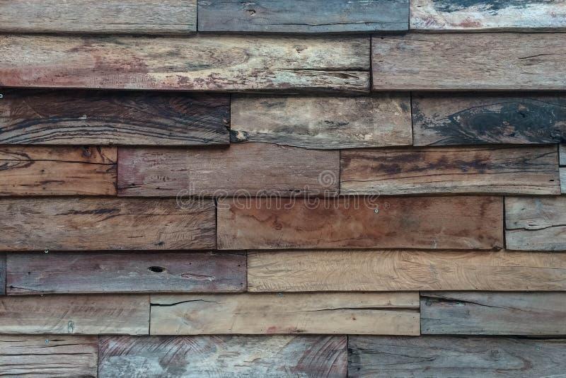 Mur en bois antique de planche photographie stock