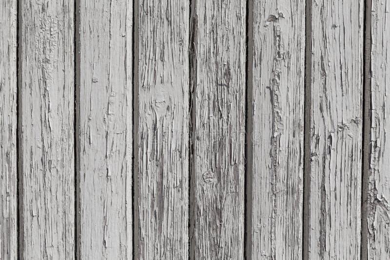 Mur en bois avec la peinture blanche images stock
