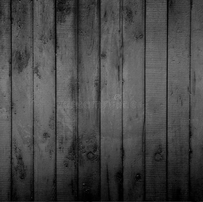 Mur en bois avec les planches verticales photo libre de droits
