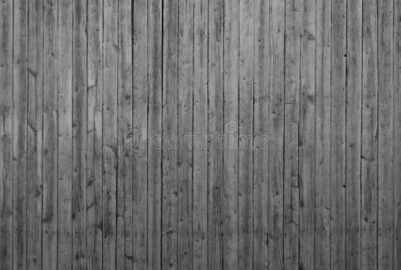 Mur en bois avec les planches verticales images libres de droits