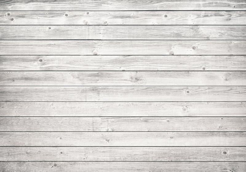 Mur en bois blanc, table, surface de plancher Texture en bois légère photographie stock libre de droits